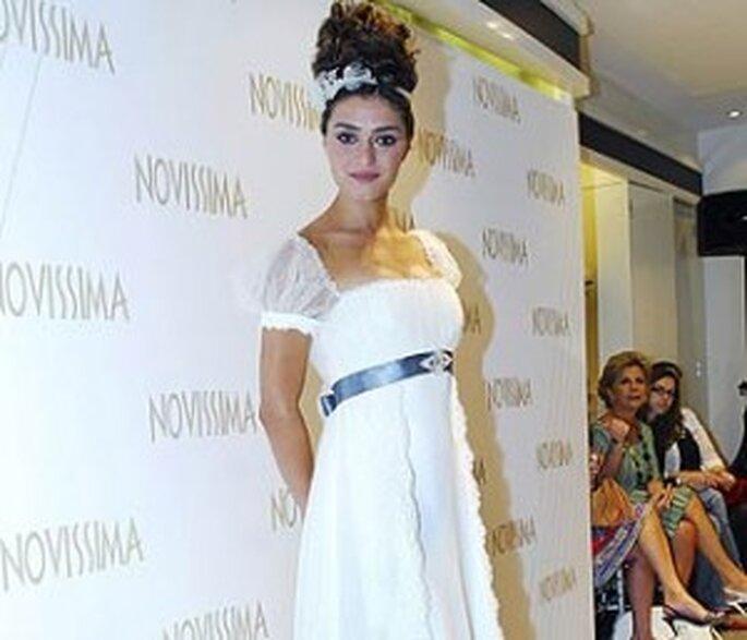 Un vestido sencillo pero muy hermoso que hará lucir como toda una muñeca