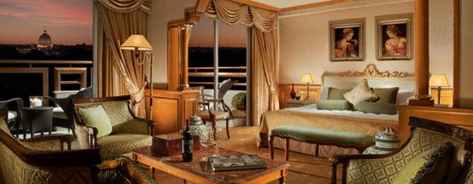 La Royal Suite di Parco dei Principi: decisamente mozzafiato. Foto: Parcodeiprincipi.com