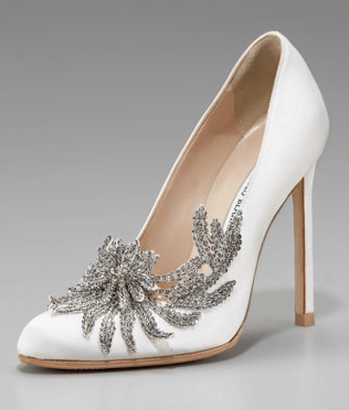 Nostalgische Schuhe im Vintage-Style – Foto: Manolo Blahnik