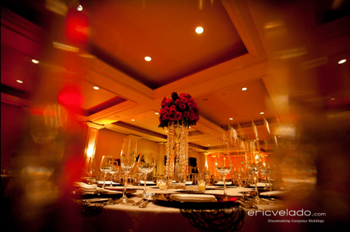 Decoración de boda estilo clásico - Foto Eric Velado
