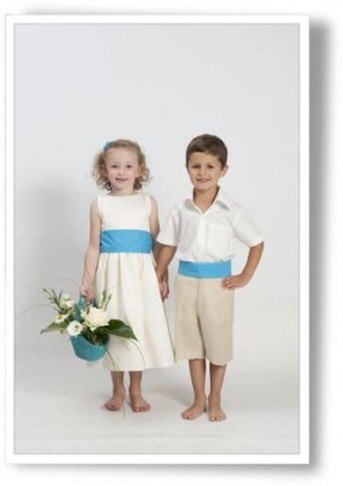 Chic et raffinement des tenues d'enfants d'honneur Cortège d'Anges