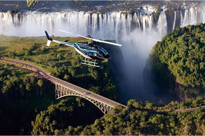 Helicopter Victoria Falls - SA Bucketlist