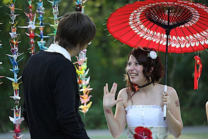 Originelle Themenhochzeit: Heiraten im japanischen Stil