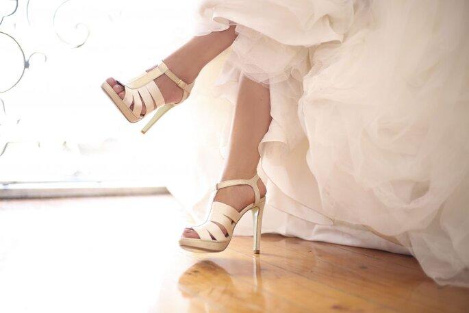 Sapatos com tiras para noivas: 7 modelos de cortar a respiração