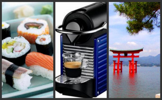 3 cadeaux pour votre liste de mariage : un cours de cuisine, une cafetière Nespresso et votre voyage de noces