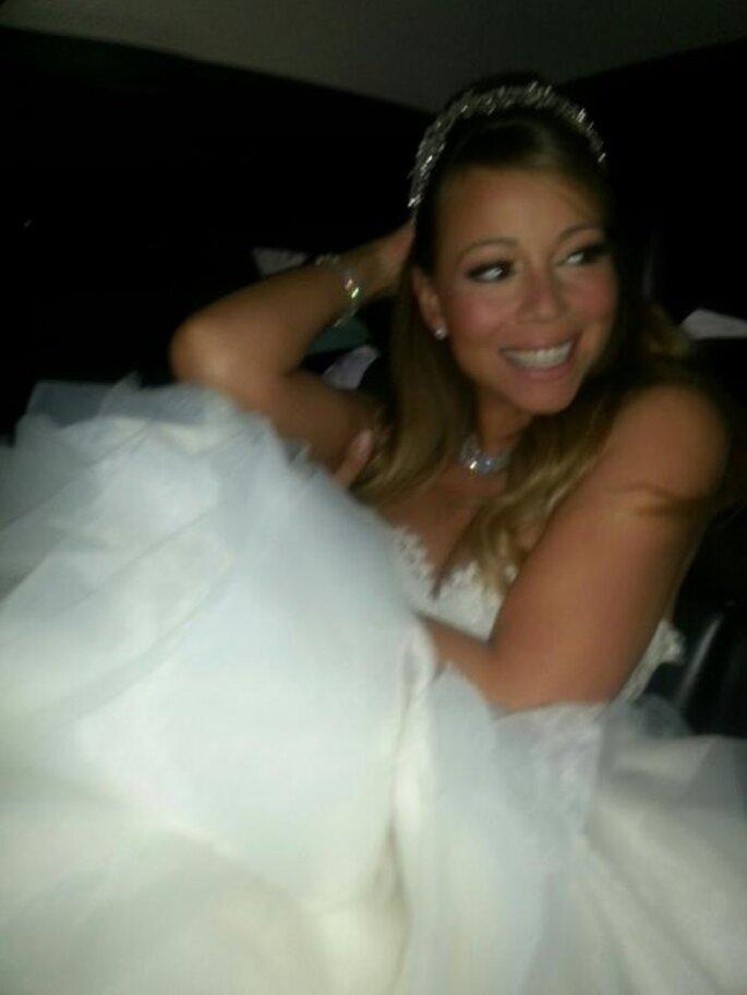Mariah Carey renueva sus votos con Nick Cannon en Disneyland - Foto Mariah Carey Twitter