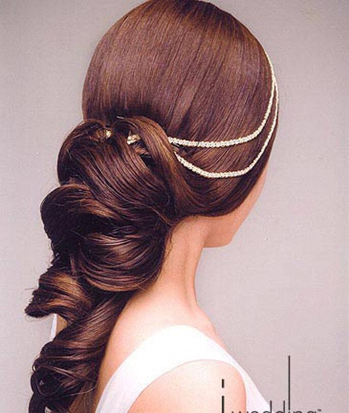 Unvergessliche Haarkreationen benötigen meist Hilfe von Haarteilen – Foto: lemienozze.it