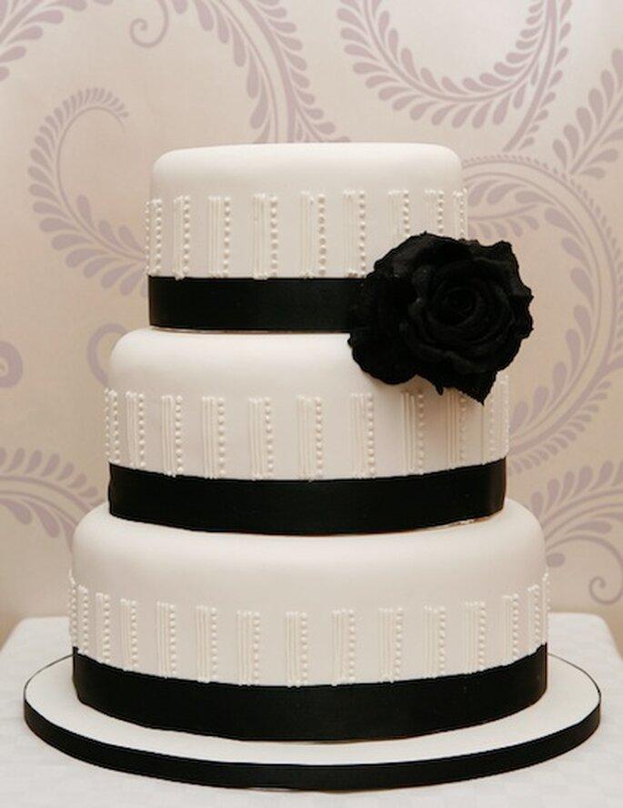 Torta nuziale Gatsby. Image courtesy of The Daisy Chain Cake Company Ltd ©Sean Collinson