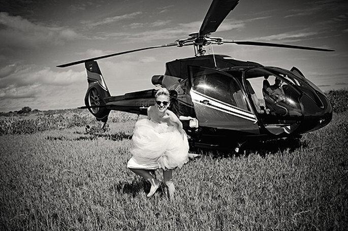 Fotografía original de bodas con El Marco Rojo