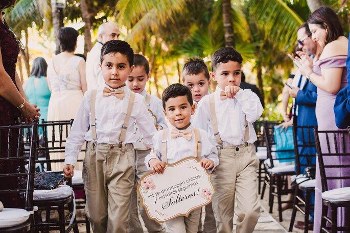 Letreros para boda