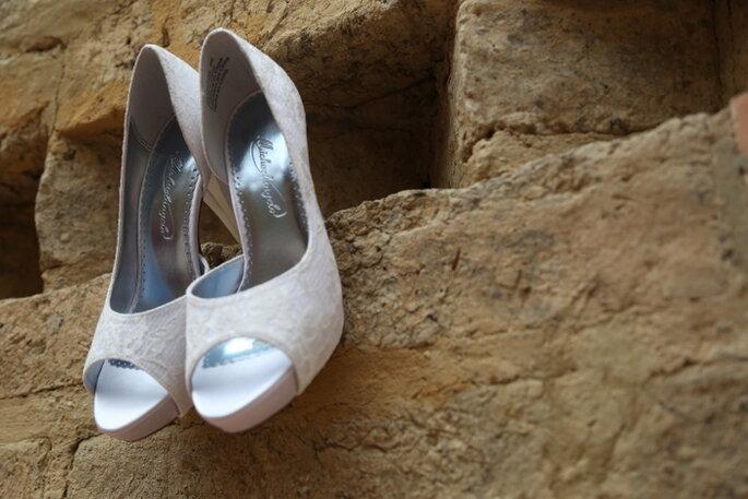 Los zapatos de la novia. Foto: Lagus Media