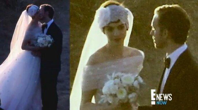 Fotos de la boda de Anne Hathaway - Foto ENews YouTube