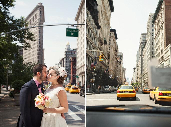 Boda en la ciudad de NYC, NY. Foto: Karen Seifert