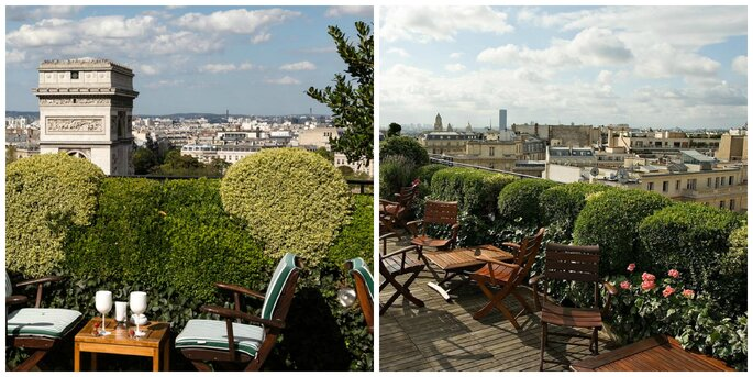Photo : Rooftop Hotel Raphaël