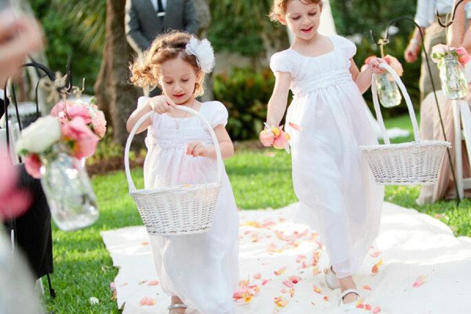 5 consejos de estilo para los pajecitos en el día de la boda. Foto- Bonnie Berry Photography