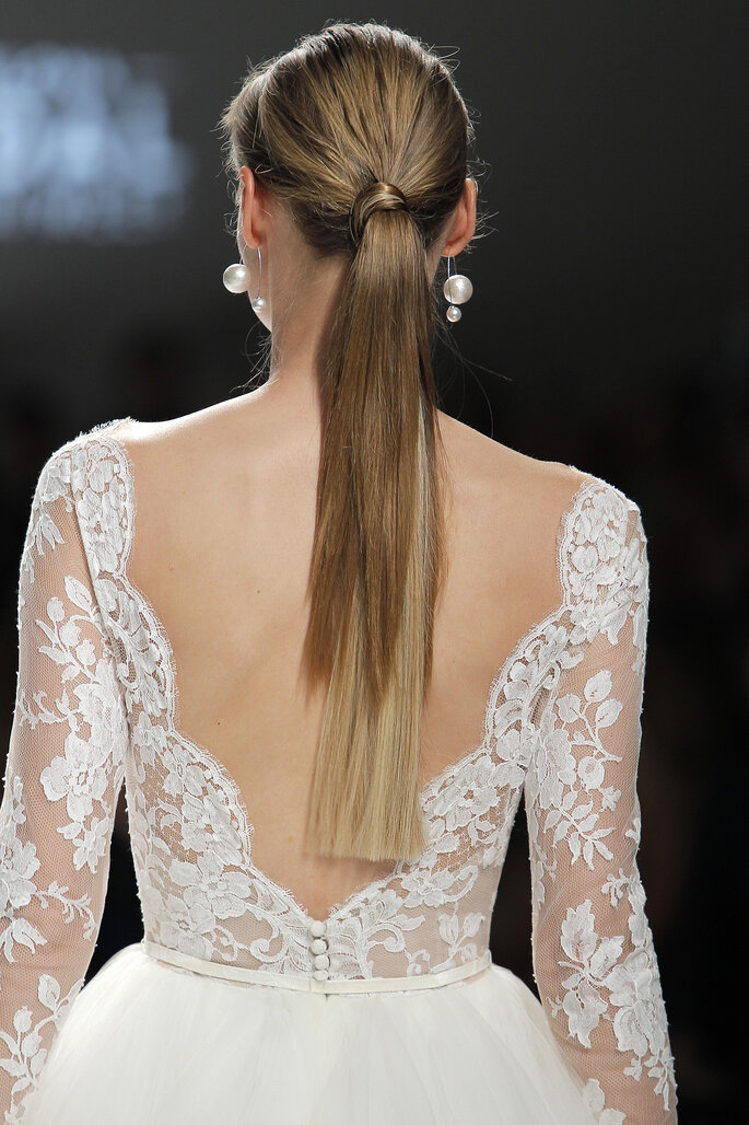 Rosa Clará 2017. Créditos: Barcelona Bridal Fashion Week