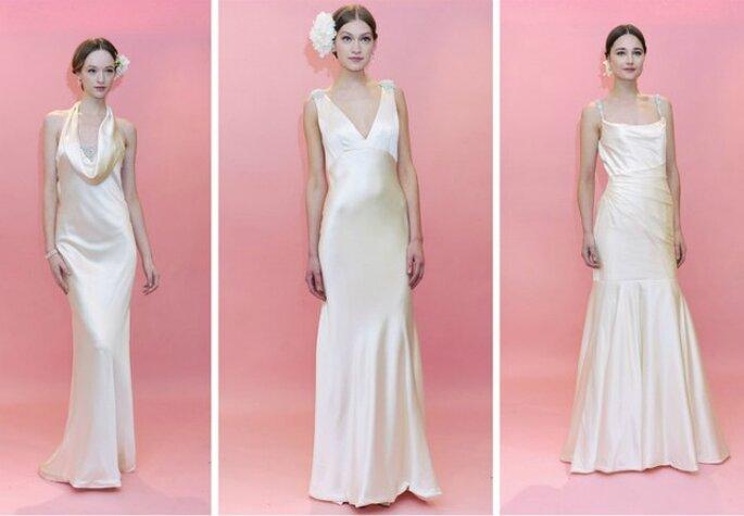 Lo stile pulito ed elegante di Badgley Mischka nella nuova Collezione Bridal Spring 2013