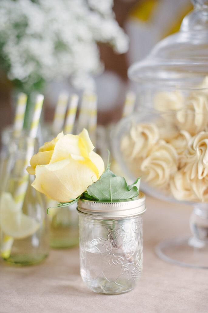 Detalles para una boda shabby chic - Heidi Lau Photography