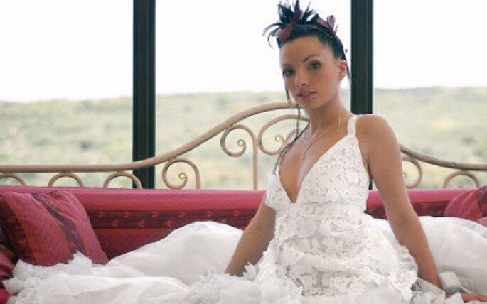 N'hésitez pas et optez pour la robe de mariée en papier. Effet garanti