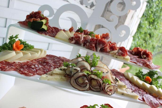 Tenuta Astroni - aperitivo servizio catering interno
