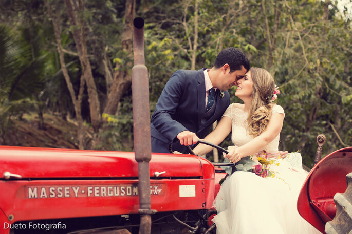 Ensaio fotografico noivos fazenda