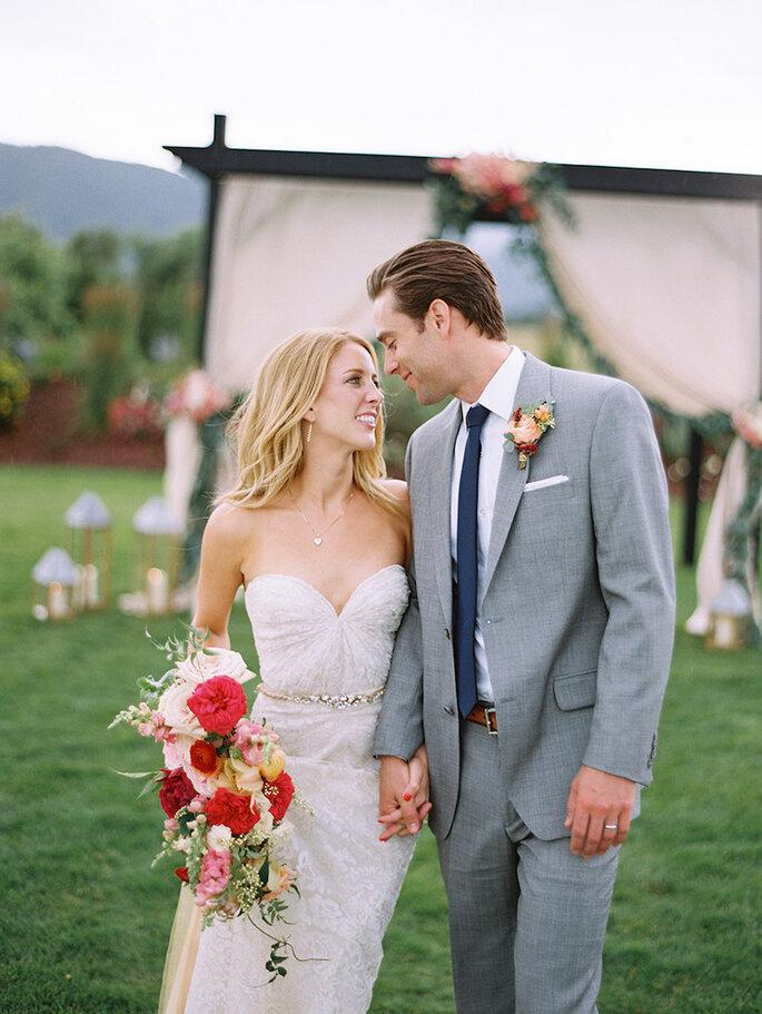 14 formas para combinar con tu novio el día de la boda - Brumley And Wells