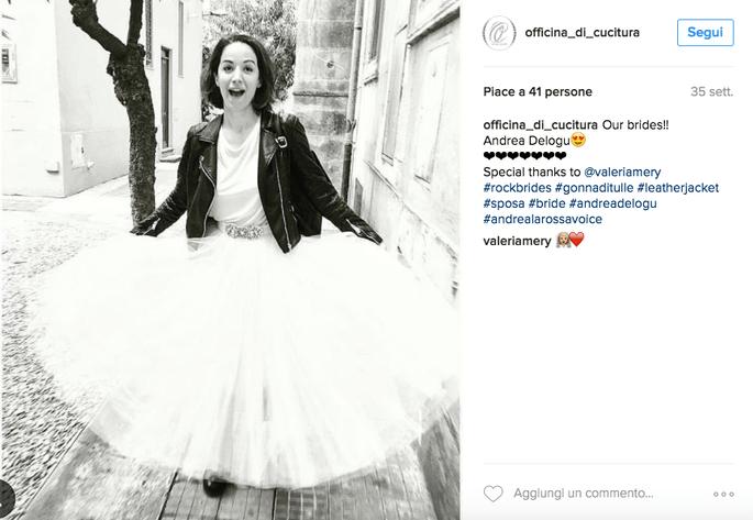 Foto via Instagram @Officina_di_cucitura