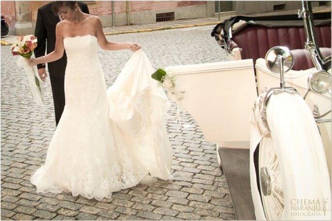 Hochzeitskleid für die kirchliche Trauung - Foto: Chema Naranjo