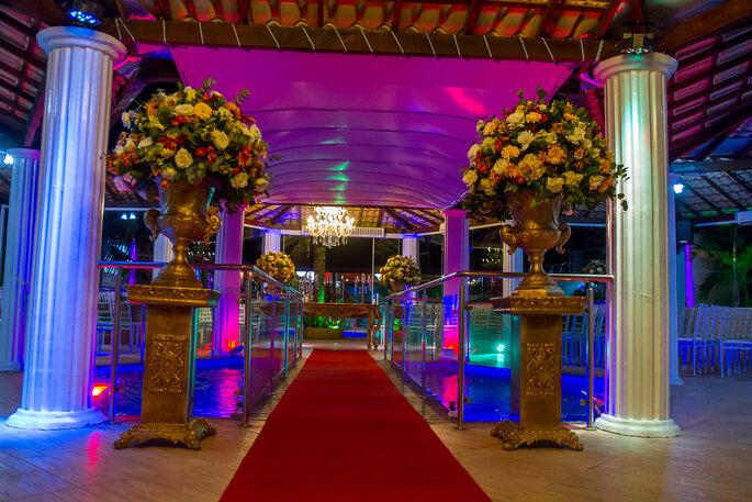 Luxuoso espaço para casamento