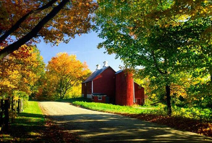 A tranquilidade de Vermont