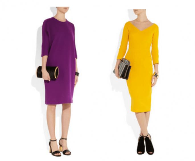 Vestidos de fiesta con tendencia minimalista - Foto Net a Porter