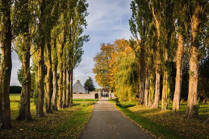 Domaine de la Thibaudière - Eure et Loire - Lieu de réception - automne