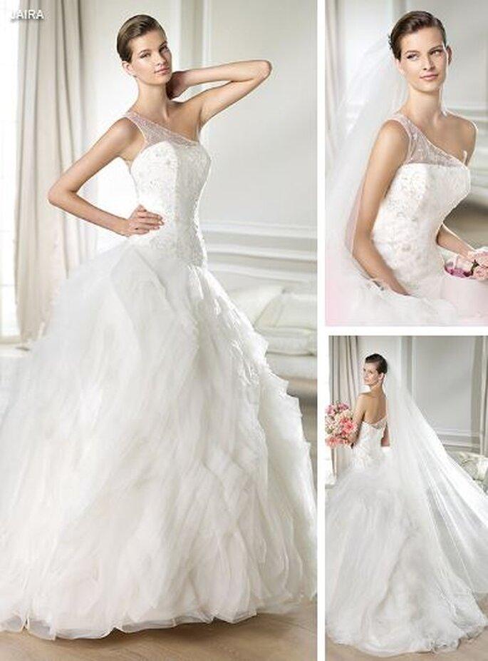 suknia śłuban z piór