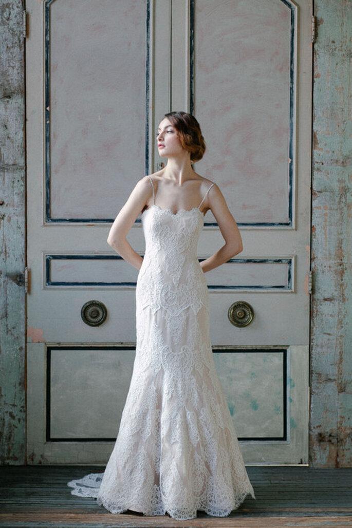 Vestido de novia de Sareh Nouri - Colección primavera 2015