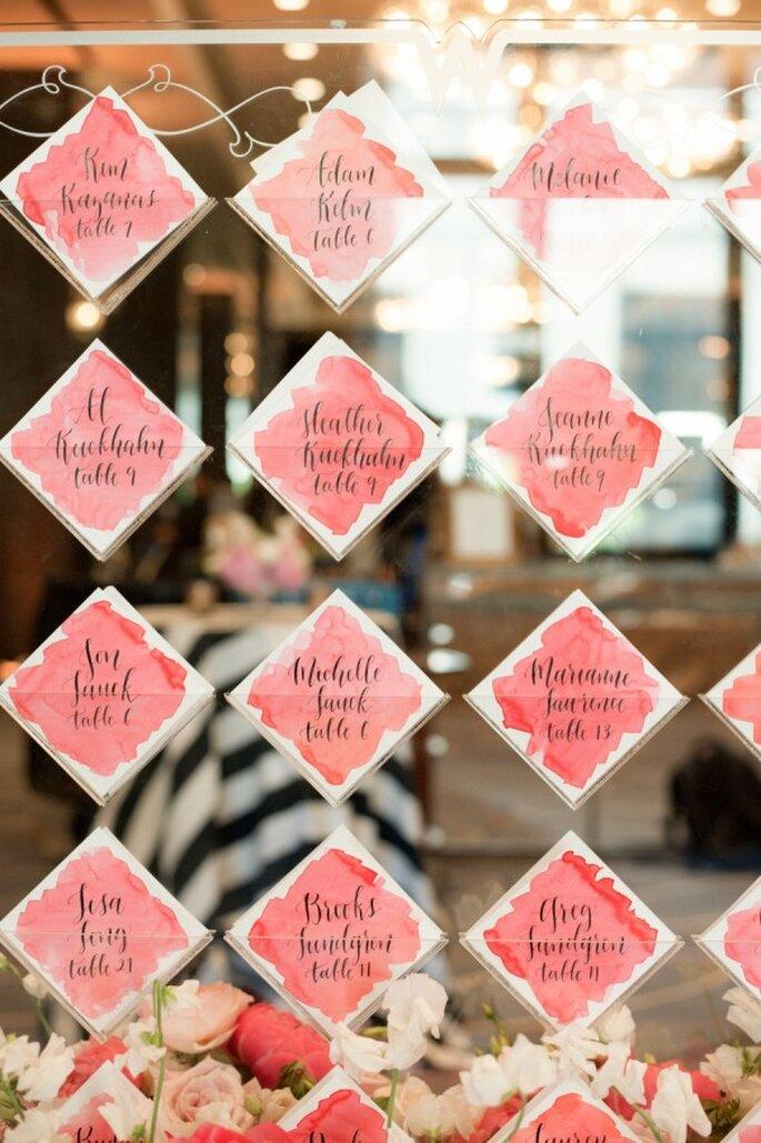 Los colores perfectos para decorar una boda en 2015 - Foto Jana Williams Photography