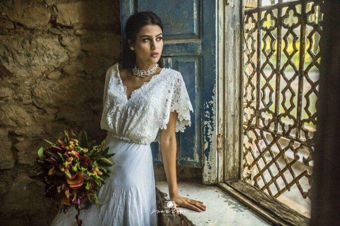 Vestido de noiva para casamento diurno