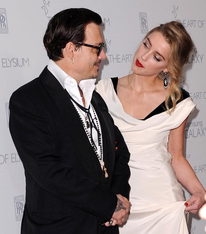 Boda Johnny Depp y Amber Heard.
