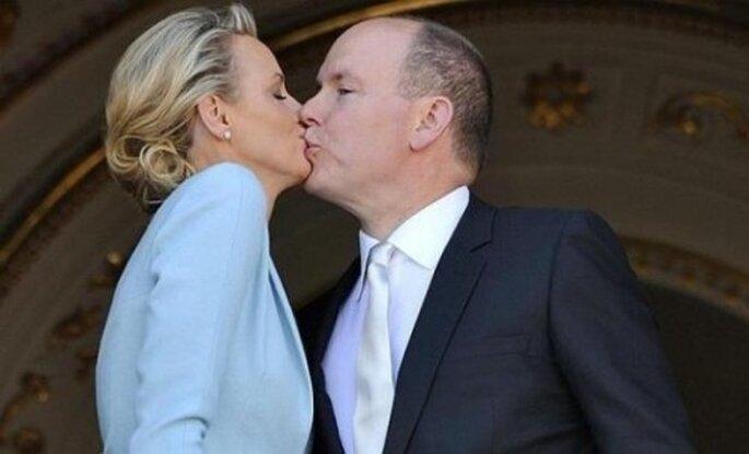 Boda civil de Charlene y Alberto de Monaco. Foto Google.
