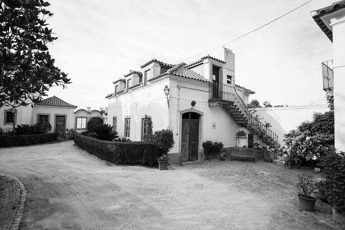 Exterior da Quinta do Pé da Serra