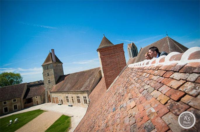 Mariage Delphine et Aurélien au Château de Bierville - Photo : Roger Savry