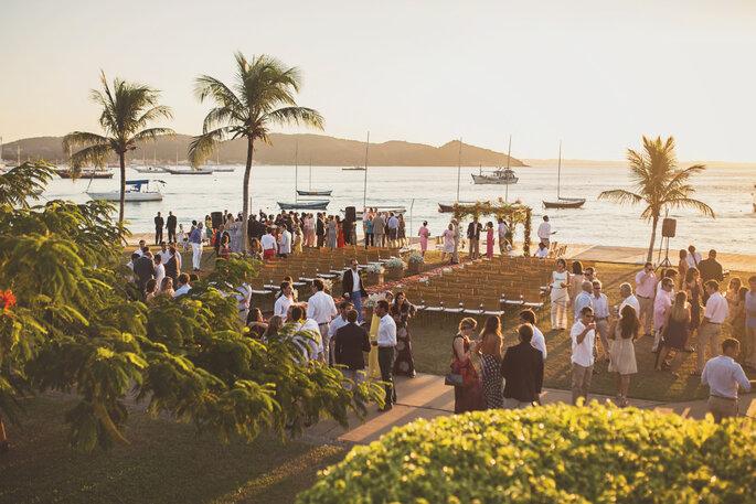 Local da cerimônia e da recepção: Iate Clube de Búzios. Foto: Studio Laura Campanella