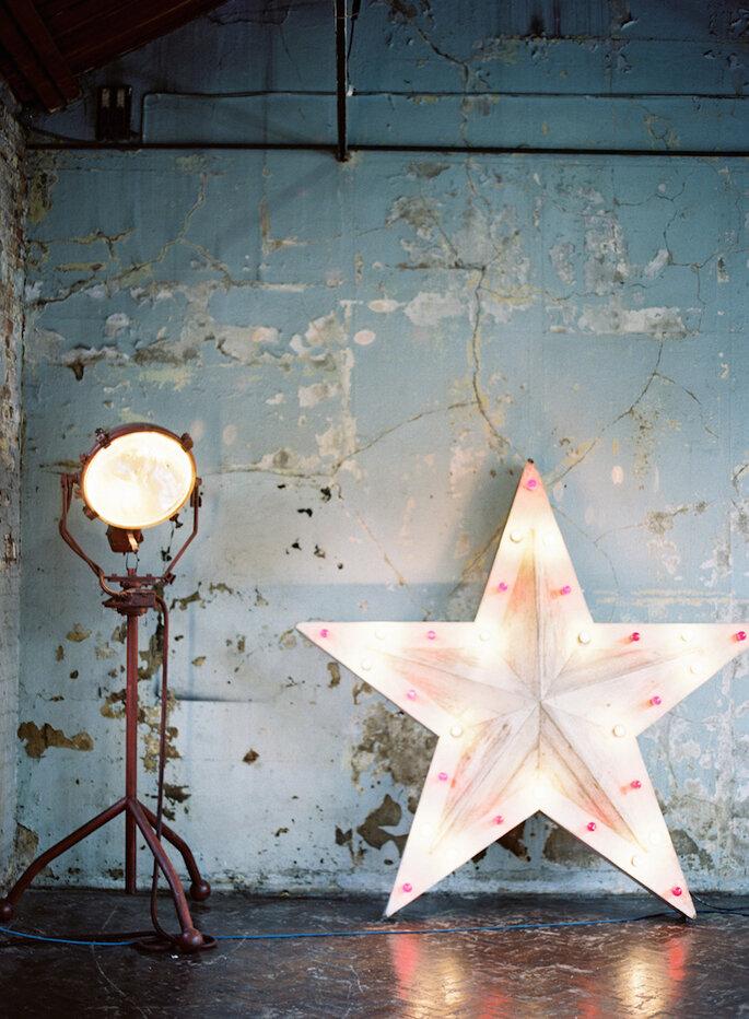Cómo decorar una boda con estilo industrial - Jodie Chapman