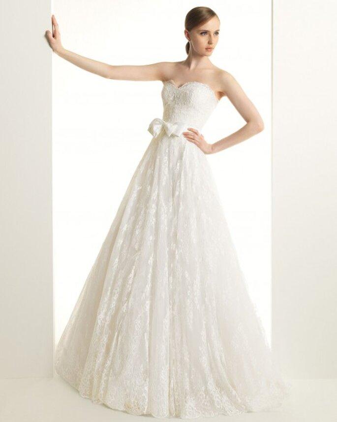 Ein schlichtes Prinzessinnen-Brautkleid – Foto: Ketty/Rosa Clara