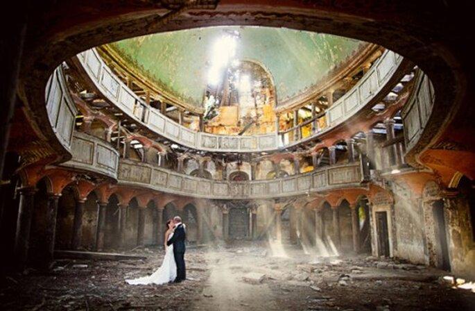 Idea romántica para tu boda. Natalia Chmieloviec Boda