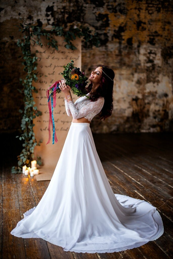 Платье невесты Voronovadress