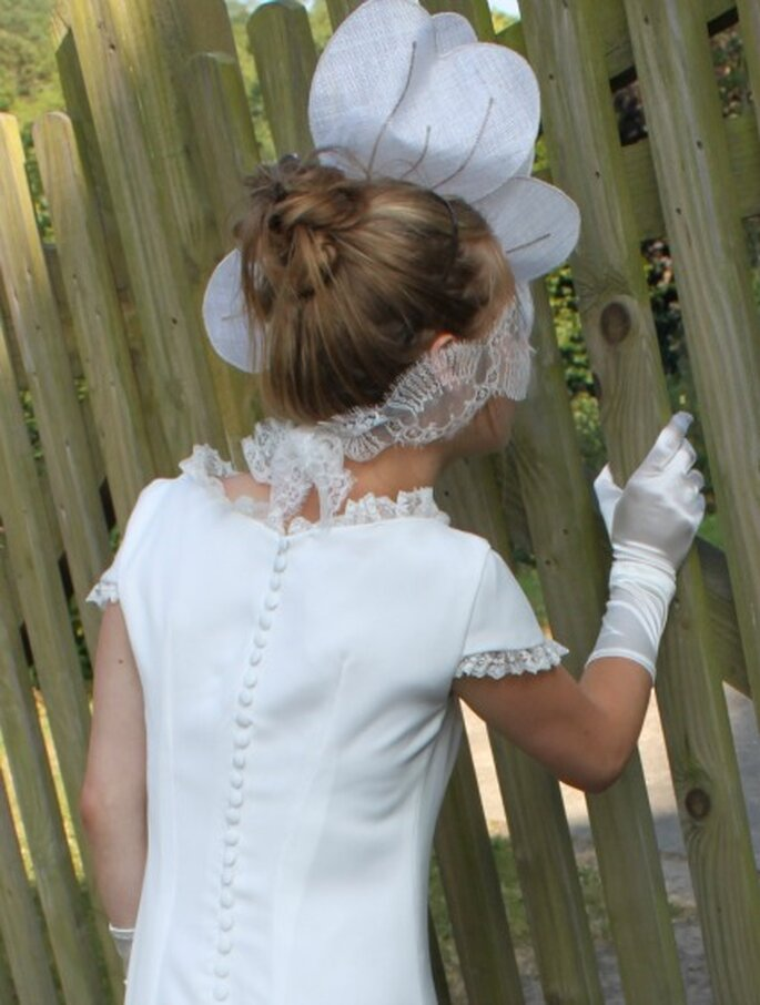 Robe de mariée sur mesure Pascale de Lavernette 2014 - Modèle : Pipa