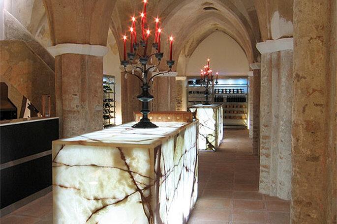 La bodega permite realizar catas de los vinos de la tierra. Foto: Convento do Espinheiro