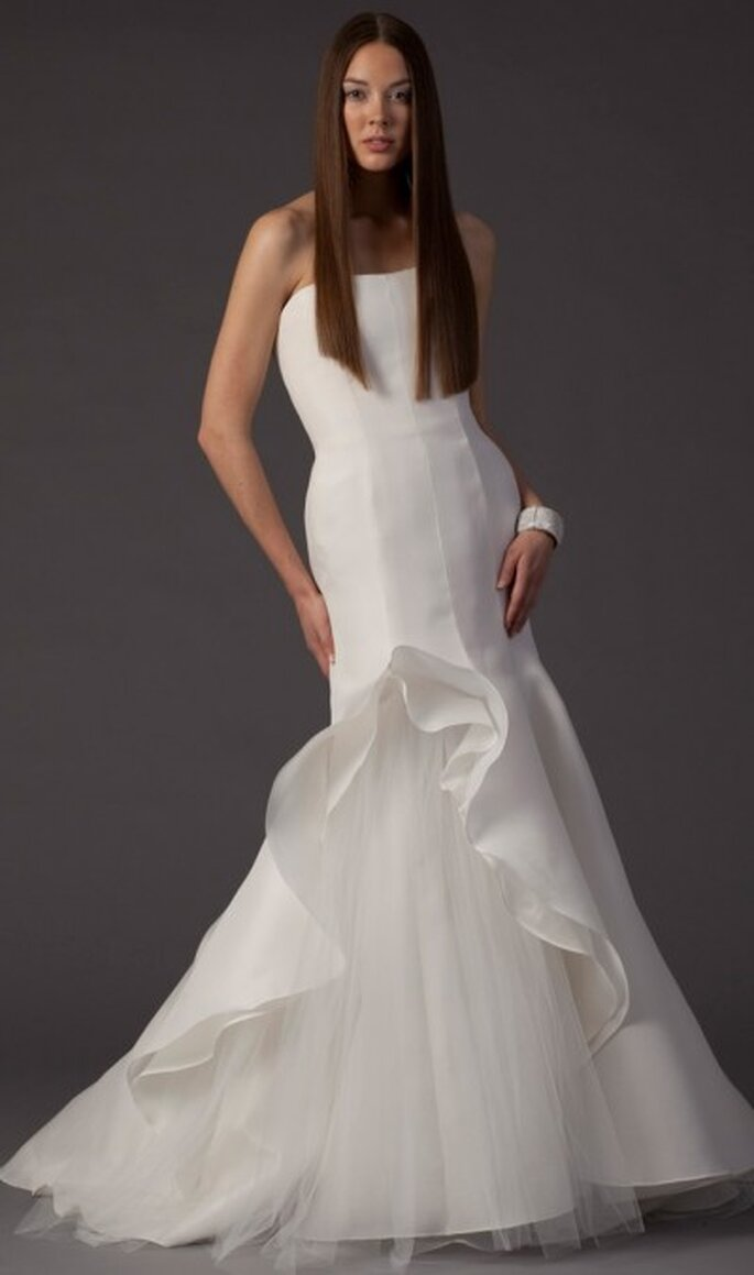 Das Haar der Braut: Dauergeglättet – glatte Haare für Ihre Brautfrisur