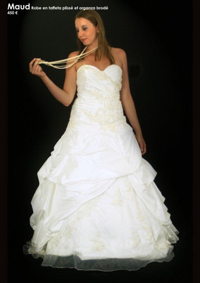 Au coeur d'un rêve : des robes de mariée personnalisables à un prix unique - Source : Au coeur d'un rêve, modèle Maud