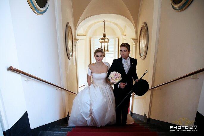 Signore e signori, ecco i nostri stupendi sposi!